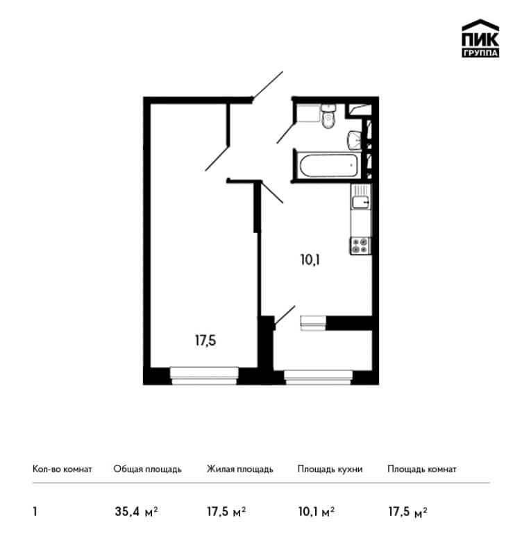 1-к квартира, 35 м?, 7/9 эт. - купить, продать, сдать или сн.